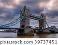 Tower Bridge in London, UK. 39737451