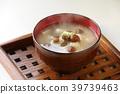 Namoko和豆腐味噌汤 39739463