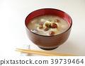 Namoko和豆腐味噌汤 39739464