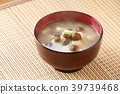 Namoko和豆腐味噌汤 39739468
