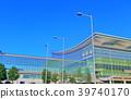 맑은 하늘 아래 하네다 공항 국제선 터미널 39740170