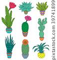 plant, set, hand 39741899