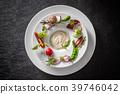 샐러드와 딥 소스 Fresh salad and dipping sauce 39746042