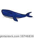 鯨魚矢量圖 39746836