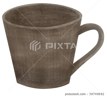 Hand drawn tableware mug 39749692