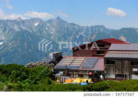 Northern Alps Mt. Shogatake and Chogatake Hutte 39757567