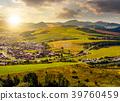 stara lubovna town in slovakia at sunset 39760459