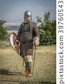 Medieval knight ready for battle 39760543