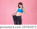 woman show weight loss 39764972