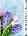 Hyacinth fresh flowers 39765518