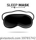 Sleep Mask Vector. Isolated Illustration Of 39765742