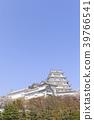 히메지 성, 봄, 벚꽃 39766541