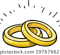 doodle marriage rings.eps 39767662
