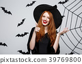 Halloween witch concept - Happy Halloween Witch 39769800