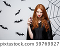 Halloween witch concept - Happy Halloween Witch 39769927