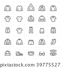 เสื้อผ้า,เครื่องแต่งกาย,ไอคอน 39775527