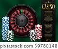 casino, gambling, roulette 39780148