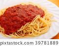 肉醬 意大利面 意大利 39781889