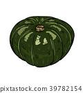 南瓜 蔬菜 矢量 39782154