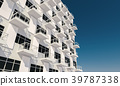 3D rendering of the a modern office building 39787338