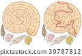 蜗牛 卡通 教育 39787812