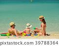 beach, family, mother 39788364