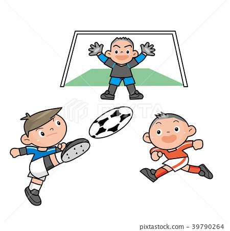 축구를하는 소년들. 39790264