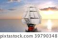 水手 帆船 海 39790348