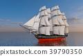 水手 帆船 海 39790350