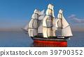 水手 帆船 海 39790352