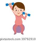 健身球 平衡球 懷孕 39792910