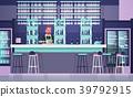 Bartender On Bar Counter, Barkeeper Man Over 39792915