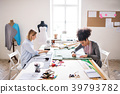 Young creative women in a studio, startup business 39793782
