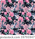 watercolor, pattern, floral 39793947
