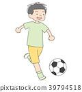 초등학생 7 살 소년 _ 축구 39794518