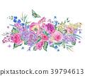 水彩畫 水彩 花朵 39794613