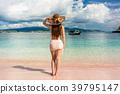 woman, vacation, summer 39795147