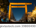 yasukuni shrine, first torii gate, spring 39800490
