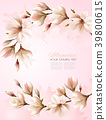Abstract spring background with beautiful magnolia 39800615