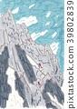 เทือกเขา Hotaka Gendarmes ปีนขึ้นไป 39802839