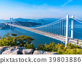great seto bridge, shimotsuiseto ohashi bridge, washuzan 39803886