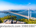 great seto bridge, shimotsuiseto ohashi bridge, washuzan 39803887