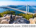 great seto bridge, shimotsuiseto ohashi bridge, washuzan 39803888