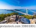 great seto bridge, shimotsuiseto ohashi bridge, washuzan 39803891