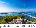 great seto bridge, shimotsuiseto ohashi bridge, washuzan 39804379