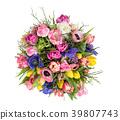 Spring flowers Tulip ranunculus anemone Beautiful 39807743