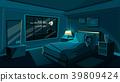 vector woman sleeping 39809424