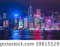 """""""香港""""港島夜景 39815529"""