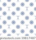 Seamless Maritime Pattern 39817487