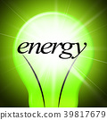 Energy Lightbulb Shows Earth Day And Eco-Friendly 39817679